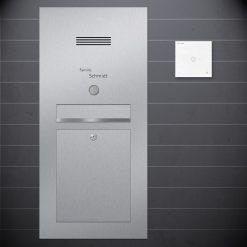 Briefkasten Unterputz Sprechanlage Design preiswert Audio