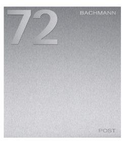 Briefkasten Edelstahl inkl Hausnumer und Name