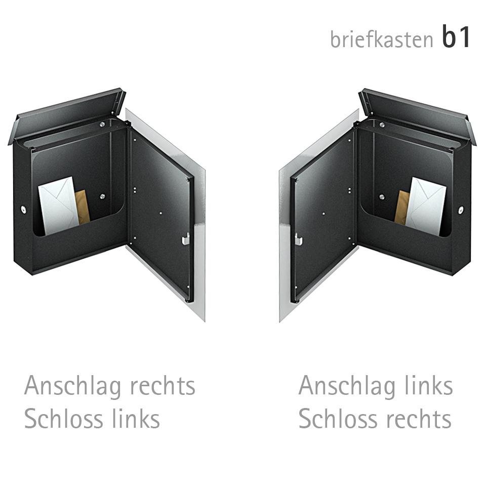 Design Briefkasten- geöffnet