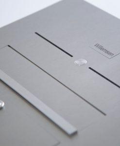 Briefkasten Unterputz mit Klingel und Sprechanlage