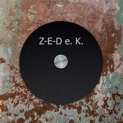 Klingel Edelstahl KT22 Black oben