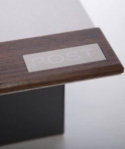 Design Briefkasten Edelstahl