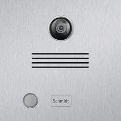Briefkasten Edelstahl Video Kamera Beschriftung Klingeltaster