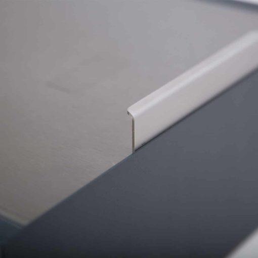 Briefkasten Edelstahl Modell B4 Big Detail
