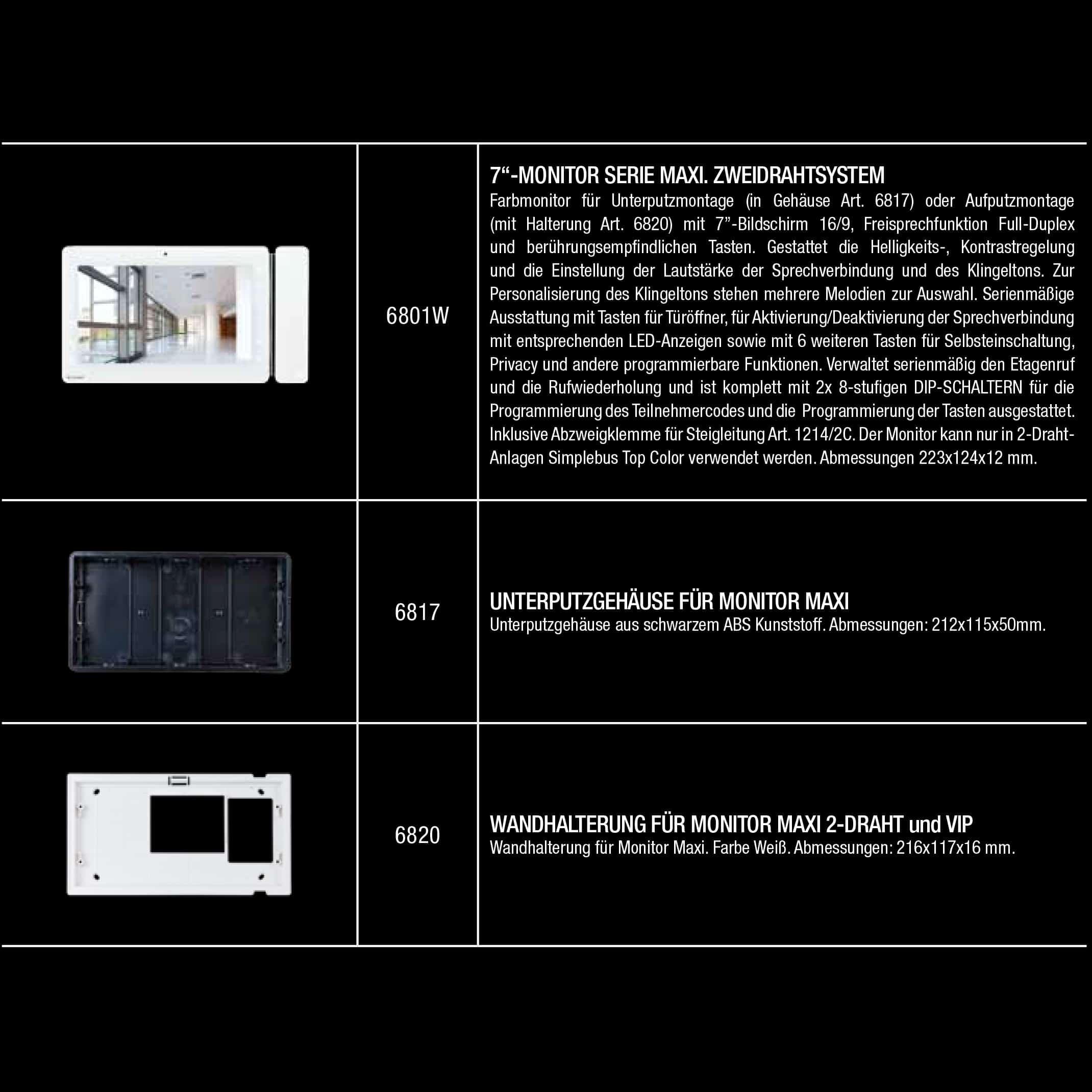 Video Innensprechstelle Maxi | z-e-d.de