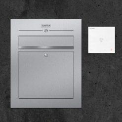 Briefkasten-Edelstahl Türsprechanlage