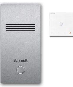 Türsprechanlage Edelstahl Audio Klingeltaster Namensbeschriftung Innensprechstelle