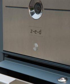 Briefkasten Edelstahl Video Türsprechanlage Komplettset Einfamilienhaus