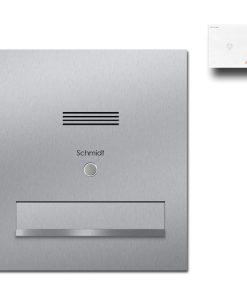 Durchwurfanlage Edelstahl Audio Gegensprechanlage Klingeltaster Namensbeschriftung