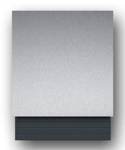 Edelstahl Briefkasten - B1 Light Steel