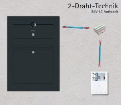 2-Draht-Technik-Video-B3V-LC-Anthrazit