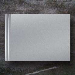 Briefkasten Edelstahl Zeitungsfach Design Wandbefestigung