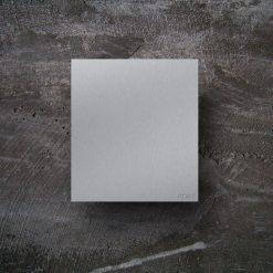 Briefkasten Edelstahl Wandmontage Namensbeschriftung
