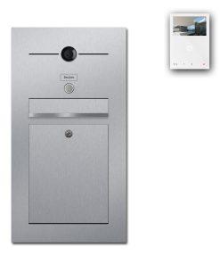 Edelstahl Briefkasten Video Kamera Wifi Wlan Gegensprechanlage Klingeltaster Unterputz