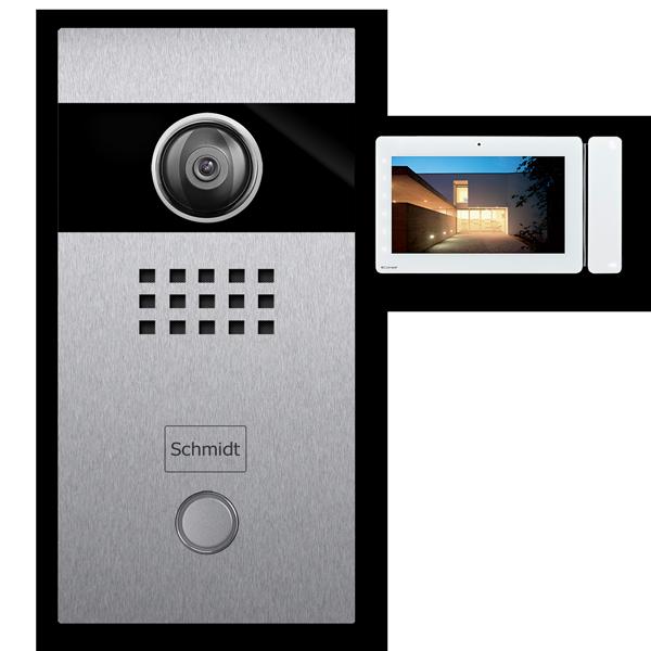 Türsprechanlage Kamera Video Edelstahl 2-Draht-Technik