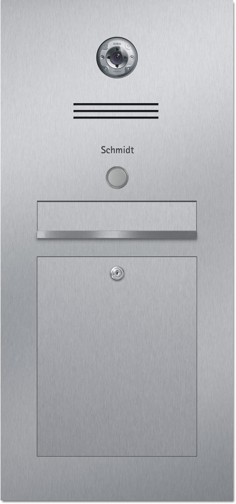 Türsprechanlage Edelstahl Konfigurator Gira Beschriftung Klingel