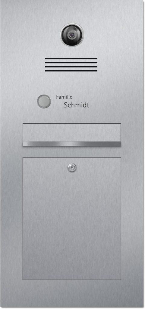 Türsprechanlage Edelstahl Kamera Konfigurator Beschriftung Klingel