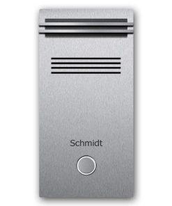 Edelstahl Türklingel Audio Klingeltaster beleuchtet Namensbeschriftung LED Beleuchtung DB703