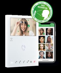 Comelit Gesichtserkennung Mini Handfree Wifi Videosprechanlage Hausklingel Smartphone Wifi Wlan